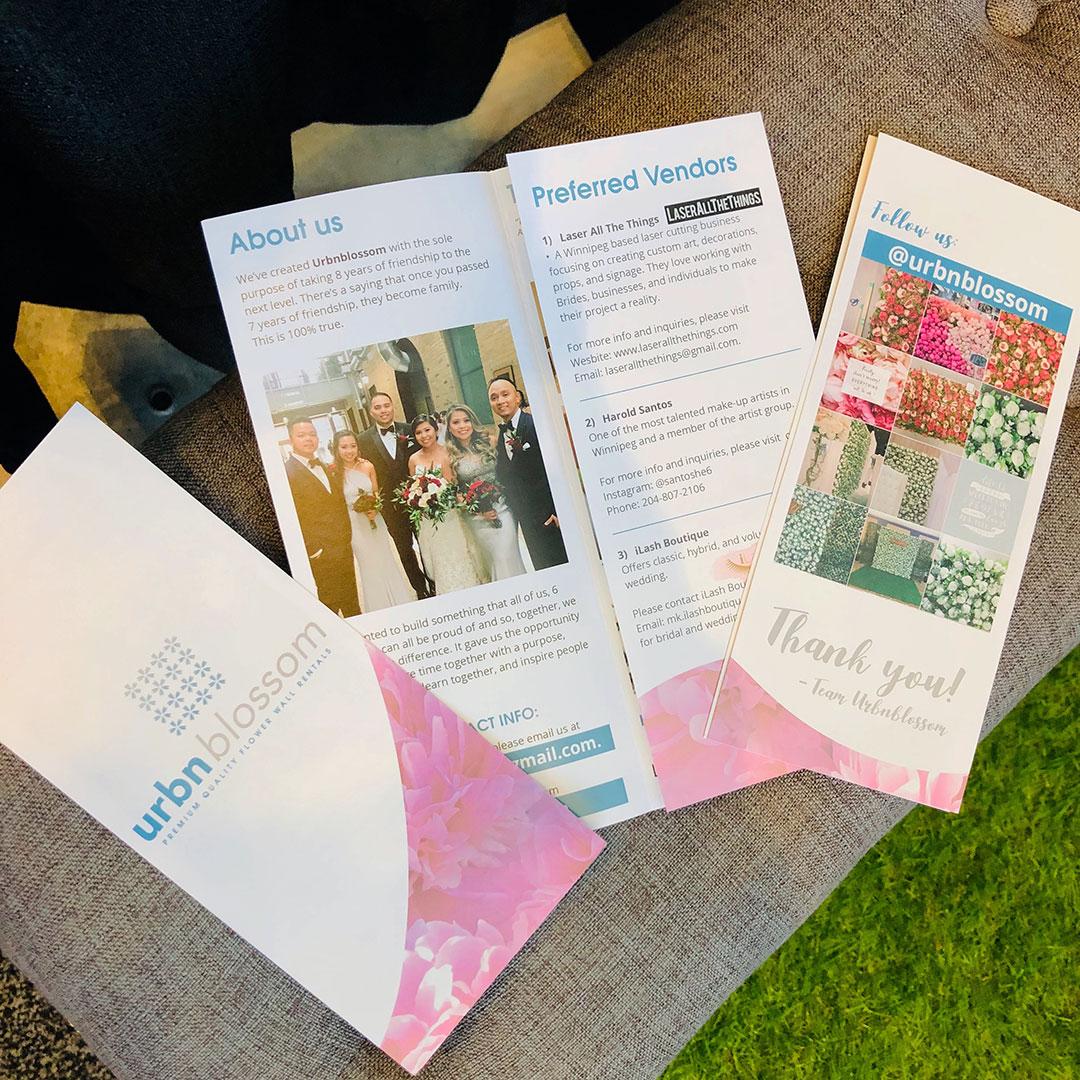Custom Tri-Fold Brochure